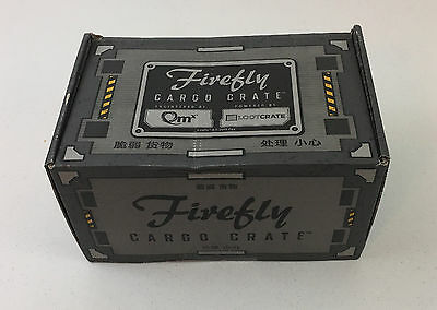 Loot Crate Firefly Saffron January 2017 #6 Cargo Crate NEW SEALED XXL Shirt