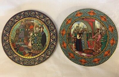 HEINRICH Russian Fairy Tales Plates Firebird Vassilissa The Fair