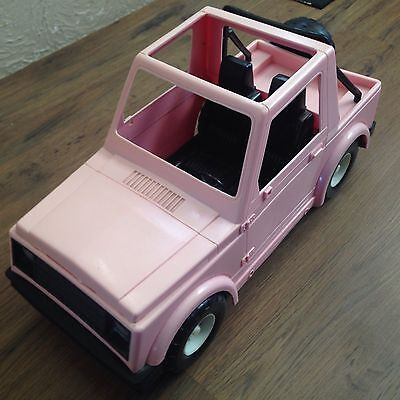 Barbie/Cindy Pink Jeep - Hasbro 1988