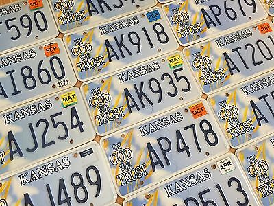 Kansas License Plate - In God We Trust - Pick Your Plate