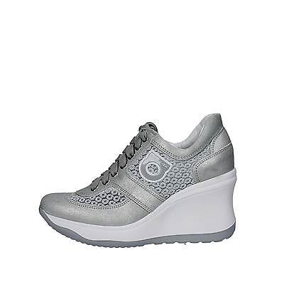 Agile By Rucoline  1800 A Sneakers Damen Wildleder / Textil  Silber