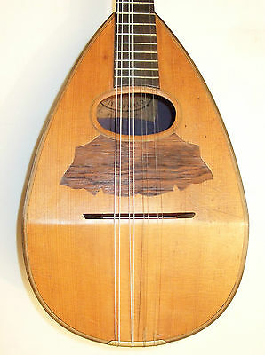 Lovely old Mittenwald Bowlback Mandolin in good playing order & condition cased