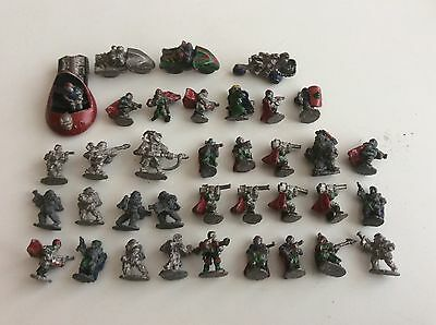 Vtg Asgard Laserburn Job Lot Of Metal 15mm Space Figures Citadel Pre Slotta Sci