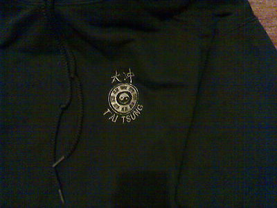 Hoodie Martial Arts  Top Size XL Black