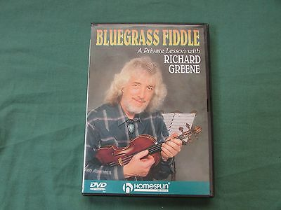 Bluegrass Fiddle A Private Lesson with Richard Greene DVD