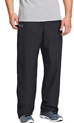 Under Armour Men's Vital Warm Up Black Pants Size Medium