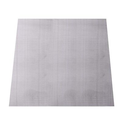 316 Stainless Steel 300 Mesh Screening Filtration Woven Wire Filter 30X30cm NEW