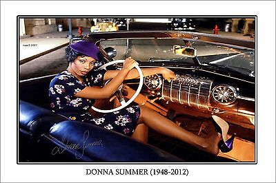 4x6 SIGNED AUTOGRAPH PHOTO PRINT OF DONNA SUMMER #25