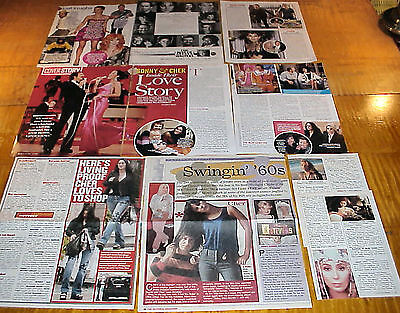 Cher Clippings 2 Lots #110416