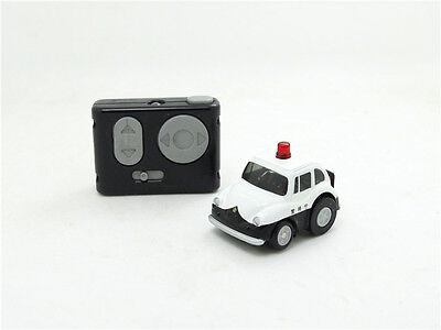 TAKARATOMY CHORO Q-STEER SUBARU360 mini RC car Remote control JAPAN POLICE CAR