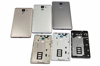 For Huawei Honor 7 Housing Metal Battery Button Door Back Rear Case Cover-NEW