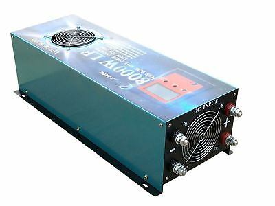 8000w LF PSW DC12 to AC240V Power Inverter with 120A Battery charger/UPS