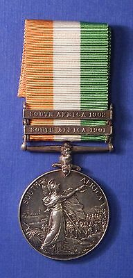 British King's South Africa Medal 1901-02 Royal Army Medical Corps        Ab0190