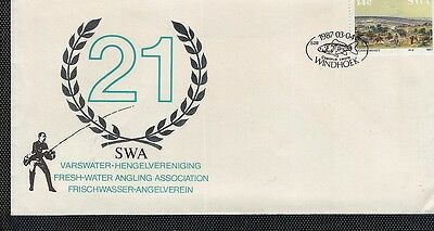 South West Africa 1987 Fresh Water Fishing Thematic Fdc