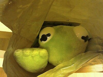NEW Kermit the Frog Muppet Backpack still in bag from Cravendale FREE POSTAGE