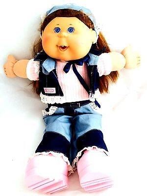 """Cabbage Patch Kid Play A Long 2004 Xavier Roberts Right Butt Cheek Signed 17"""" B2"""