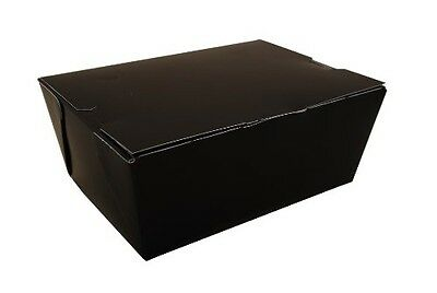 Southern Champion Tray 0754 #4 ChampPak Classic Take-Out Container, Black