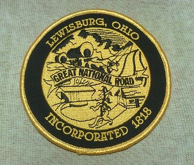OH Lewisburg Ohio Police Patch