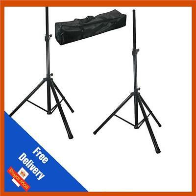 Pulse High Quality PA Speaker Tripod Stands kit with Bag Stand DJ Disco