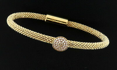 "Genuine Links Of London Gold On Silver ""stardust"" Bracelet  5010.2483 Rrp £120"