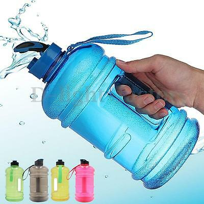 2.2Litre BPA-Free Sport Gym Half Gallon Bike Training Workout Drink Water Bottle
