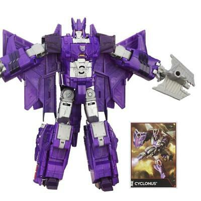 Transformers Combiner Wars Cyclonus Voyager Class Action Figure Hasbro Toy