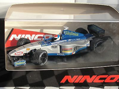 Ninco Minardi Ford  #21 Blue/silver  50200   1:32 New Old Stock Boxed