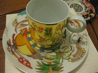 Rosenthal Grasso Nestle 2003 cup and saucer Day boxed plus a spare night saucer