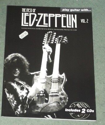 Play Guitar with... the Best of Led Zeppelin: Vol. 2 by Omnibus Press (Paperback