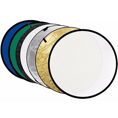 Nest NT-RE2004 7in1 80cm Circular Reflector GOLD SILVER WHITE GREEN TRANSLUCENT