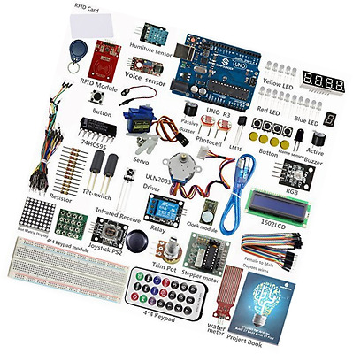 Starter RFID Learning Kit for Arduino and Electronic Beginner with 30 Projects
