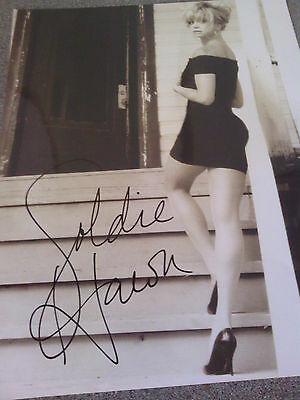 "Goldie Hawn - Signed  10"" x 8"""