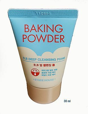 ETUDE HOUSE - BAKING POWDER BB DEEP CLEANSING FOAM 30ml Sample ( KOREA Genuine )