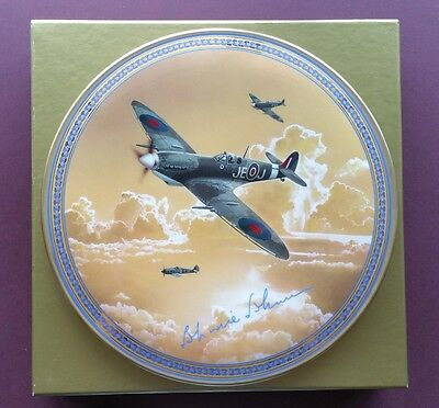Royal Worcester Limited Edition Plate - WWII 'Johnnie' Johnson - New & boxed