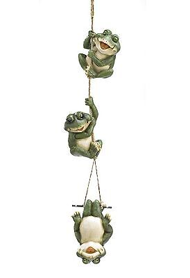 Solar Frog Yard Ornament Figurines 3 Styles + Hanging Decoration 4PC Mixed Lot