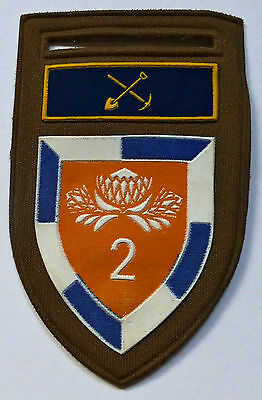 2 Special Service Battalion South Africa Armour African Protea Arm Badge Patch