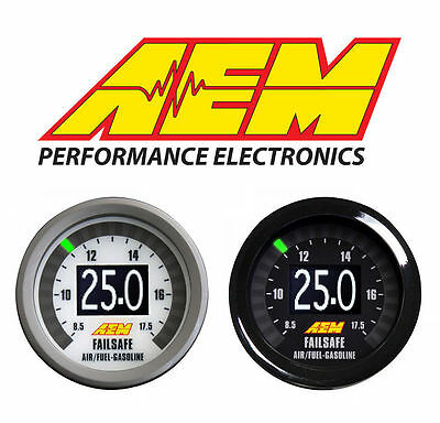 Aem Failsafe Afr Wideband Air / Fuel Ratio And Boost In One Gauge 30-4900