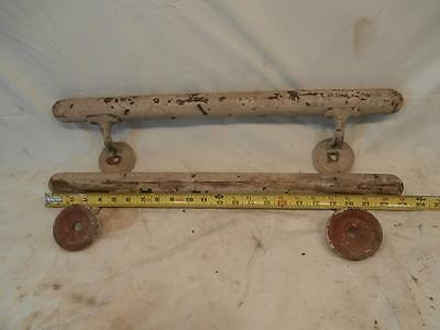 "Antique HAND RAIL ,University Of Minnesota 1940's 50's 24"" Long ,Pipe BAR RAIL"