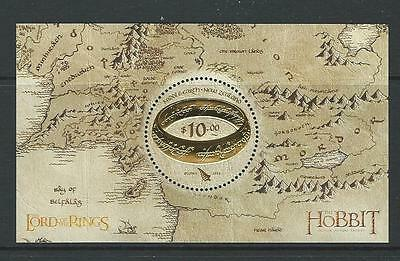 New Zealand 2016 Lord Of The Rings The Hobbit Miniature Sheet, Unmounted Mint,