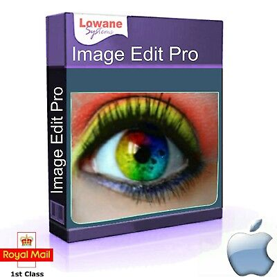 Professional Photo Image Digital Editing  Software for Apple Mac