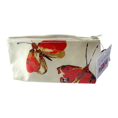 Butterfly Design Make up Bag - Made in Great Britain