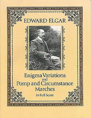 Edward Elgar: Enigma Variations And Pomp And Circumsta.... Orchestra Sheet Music