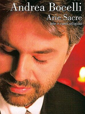 Andrea Bocelli: Arie Sacre. Choral Sheet Music