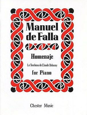 De Falla: Homenaje: Le Tombeau De Claude Debussy. Piano Sheet Music