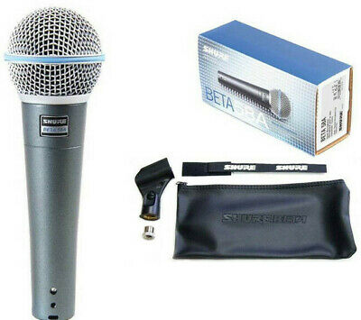Shure BETA58A Supercardioid Dynamic Vocal Microphone High-output Neodymium