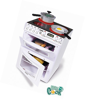 Hotpoint Electronic Cooker Casdon White Toy 30 x 25 cm Illuminated Grill Oven