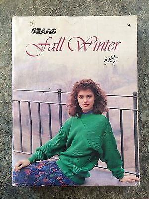 Vintage 1987 Sears Fall & Winter 1071 Page Catalog   Advertising