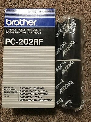 Brother 1 Roll Refill Thermal Transfer Rolls PC-202RF 1 ROLL NEW