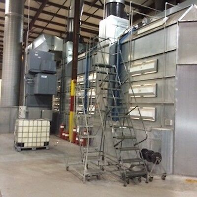 Spray And Cure Truck Spray Paint Booth  Price Redution!!!
