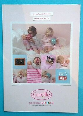 GRAND CATALOGUE DIN A4 COROLLE COLLECTION 2011 - 84 Pages - MATTEL